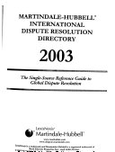 Martindale Hubbell International Dispute Resolution Directory