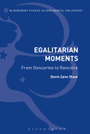 Egalitarian Moments: From Descartes to Rancière
