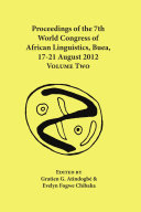 Proceedings of the 7th World Congress of African Linguistics  Buea  17 21 August 2012