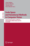 Scale Space and Variational Methods in Computer Vision