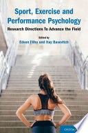 Sport  Exercise and Performance Psychology Book