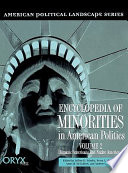 Encyclopedia Of Minorities In American Politics Hispanic Americans And Native Americans