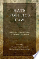 Hate Politics Law