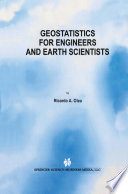 Geostatistics For Engineers And Earth Scientists Book PDF