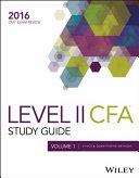 Wiley Study Guide for 2016 Level II CFA Exam  Ethics   quantitative methods