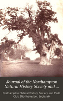 Journal of the Northampton Natural History Society and Field Club