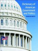 Dictionary of American Government and Politics Pdf/ePub eBook