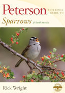 Peterson Reference Guide to Sparrows of North America Pdf/ePub eBook
