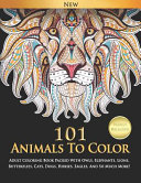 101 Animals To Color