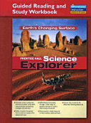 Science Explorer Earths Changing Surface