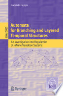 Automata for Branching and Layered Temporal Structures Book