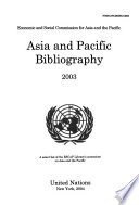 Asia and Pacific Bibliography