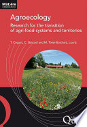 Agroecology  research for the transition of agri food systems and territories Book