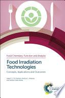 Food Irradiation Technologies Book PDF