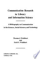 Communication Research in Library and Information Science
