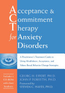 Acceptance and Commitment Therapy for Anxiety Disorders ebook