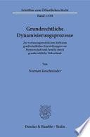 Grundrechtliche Dynamisierungsprozesse  : Zur verfassungsrechtlichen Reflexion gesellschaftlicher Entwicklungen von Partnerschaft und Familie durch grundrechtliche Tatbestände