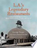 L.A.'s Legendary Restaurants