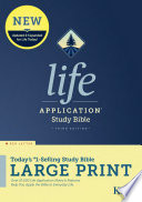 Kjv Life Application Study Bible Third Edition Large Print Red Letter Hardcover