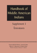 Supplement to the Handbook of Middle American Indians  Volume 3