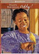 Happy Birthday, Addy!