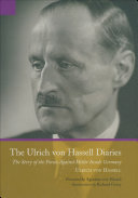 Pdf The Ulrich von Hassell Diaries Telecharger