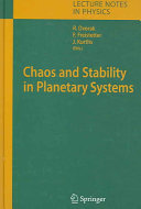 Chaos and Stability in Planetary Systems