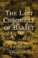 The Last Chronicle of Barset Pdf/ePub eBook