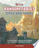 Random Tables  Cities and Towns