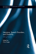 Literature  Speech Disorders  and Disability