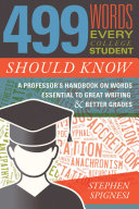 Pdf 499 Words Every College Student Should Know