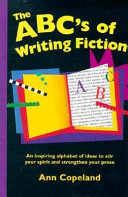 The ABC s of Writing Fiction Book