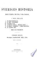 Sveriges historia fra n a ldsta tid till va ra dagar