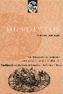 Hippolytus in Drama and Myth