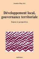 Développement local, gouvernance territoriale