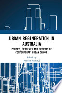 Urban Regeneration in Australia