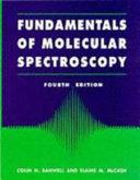 Cover of Fundamentals of Molecular Spectroscopy