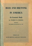 Beer and Brewing in America