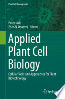 Applied Plant Cell Biology Book