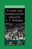 Cereals And Pseudocereals Book PDF