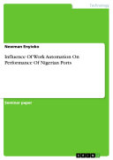 Influence Of Work Automation On Performance Of Nigerian Ports
