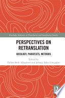 Perspectives On Retranslation Book