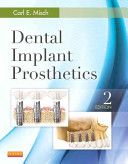 Dental Implant Prosthetics Pageburst E book on Kno Retail Passcode