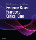 Evidence Based Practice of Critical Care E book