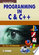 Programming in C   C