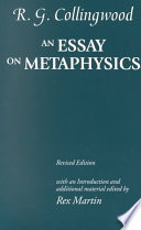 An Essay on Metaphysics