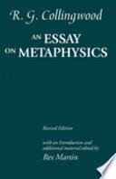 An Essay on Metaphysics