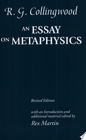 Download An Essay on Metaphysics Free Books - All About Books