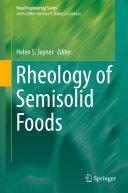 Rheology of Semisolid Foods [Pdf/ePub] eBook