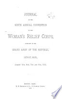 Journal of the     Convention of the National Woman s Relief Corps